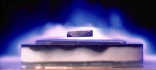 Figure 5 – The 'levitation' phenomenon visualized. Source - http://www.worldtechtoday.com/wp-content/uploads/2015/08/superconductors.jpg